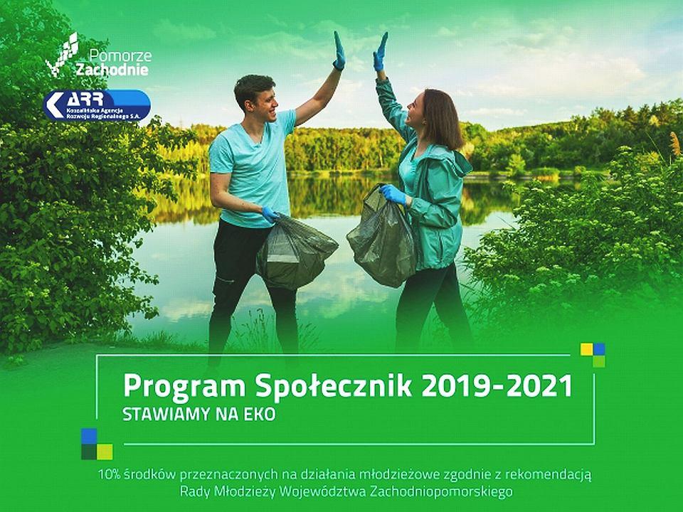 Graficzny motyw przewodni programu Społecznik 2021