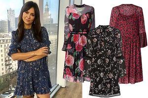 sukienki w kwiaty / mat. partnera / www.instagram.com/kingarusin/
