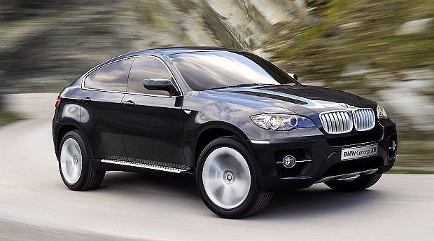 Skrót SUV - Sport Utility Vehicle - nabrał przy X6 zupełnie nowego znaczenia