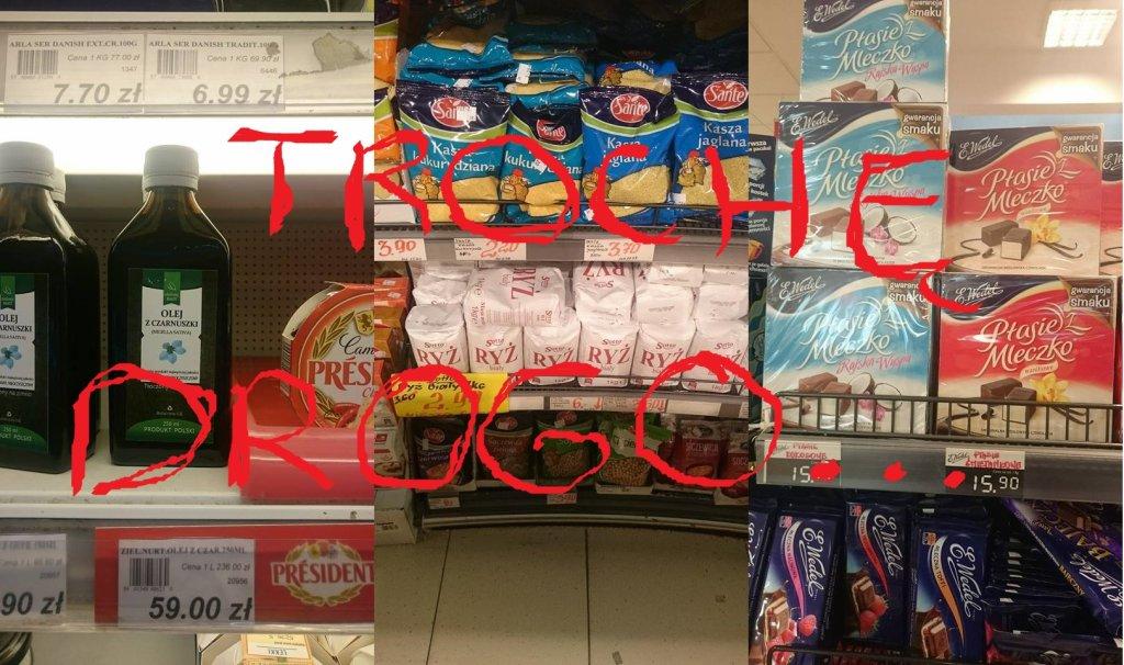 Drogie sklepy w Warszawie
