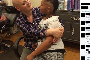 9-latka zgoliła sobie włosy. Zamiast się oburzać, jej matka wzruszyła się do łez