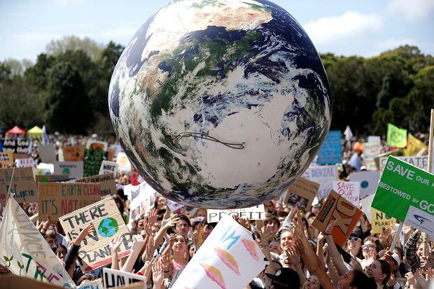 Australia. Protest klimatyczny.