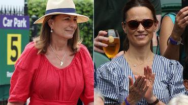 Carole i Pippa Middleton
