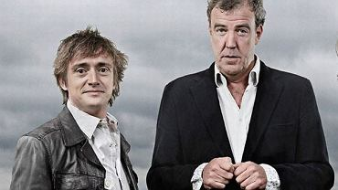 "Prowadzacy programu ""Top Gear"" Jeremy Clarkson i Richard Hammond"