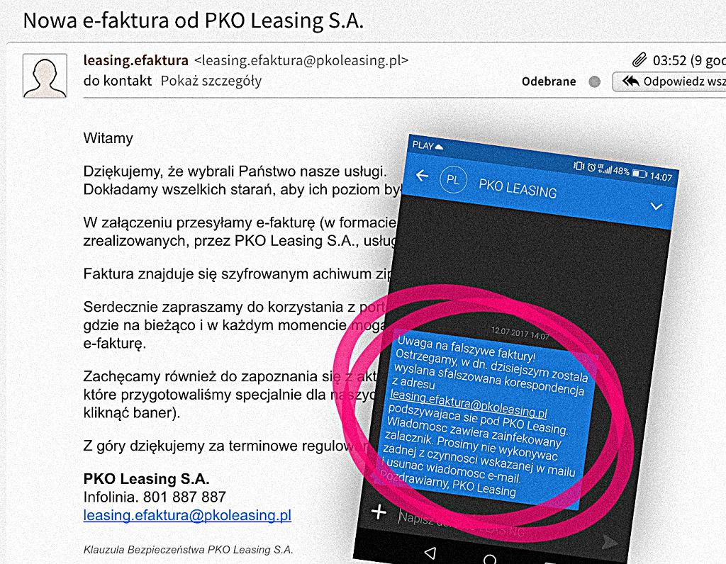 PKO Leasing pokrzyżował plany cyberprzestępców