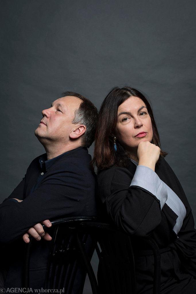 Ewa Winnicka i Cezary Łazarewicz, autorzy książki '1968. Czasy nadchodzą nowe' / DAWID ŻUCHOWICZ