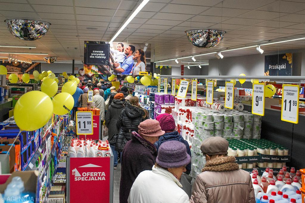 Otwarcie sklepu Netto przy ul. Stawowej na Błoniu w Bydgoszczy