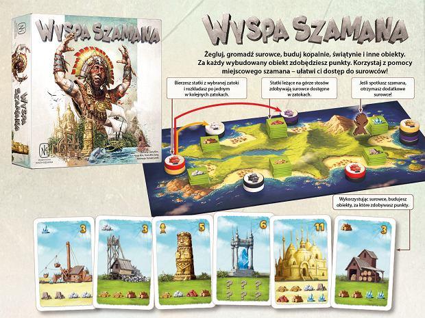 Wyspa Szamana - Materiały promocyjne