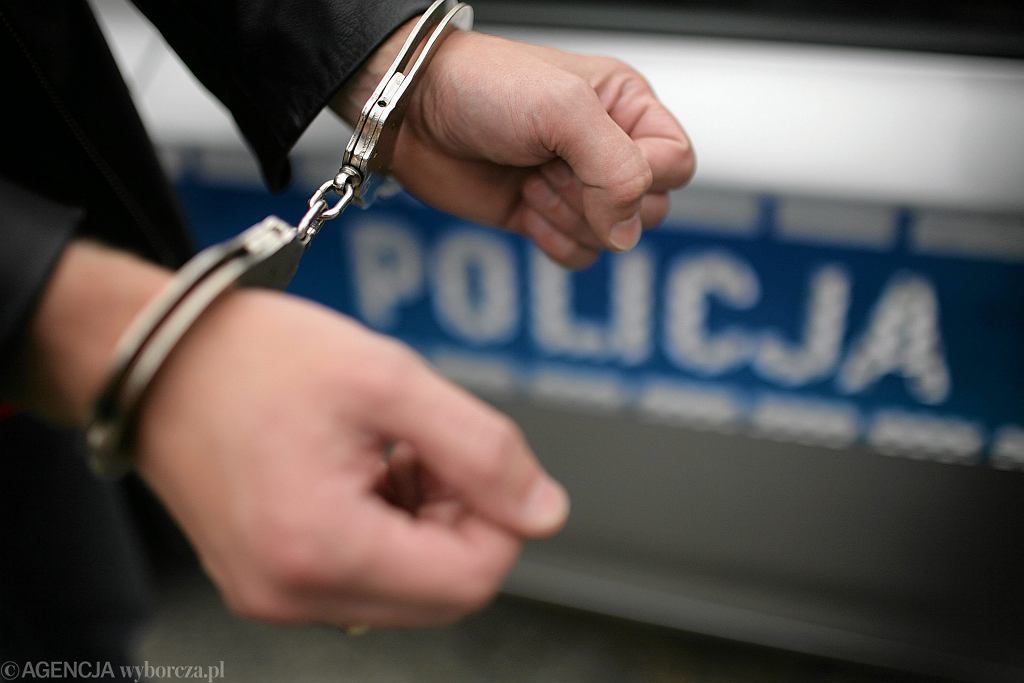 Zatrzymanie przez policję - zdjęcie ilustracyjne