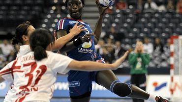 MŚ w piłce ręcznej. Mecz Francja - Japonia