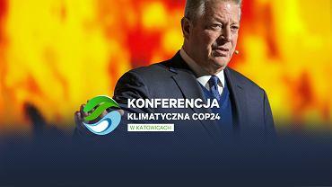 Al Gore na COP24 w Katowicach