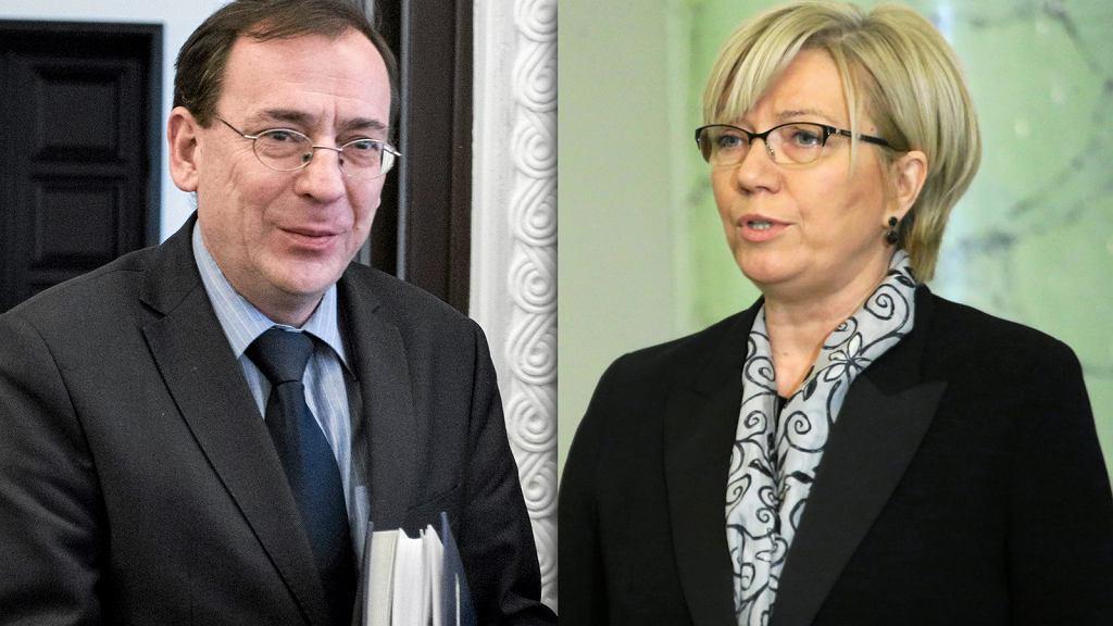 Mariusz Kamiński i Julia Przyłebska