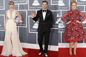 Taylor Swift, Justin Timberlake, Adele.