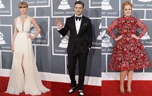 Taylor Swift, Justin Timberlake, Adele