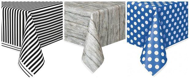 Papierowe obrusy na stół