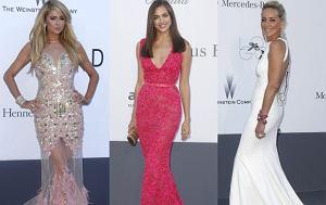 Paris Hilton, Irina Shayk, Sharon Stone