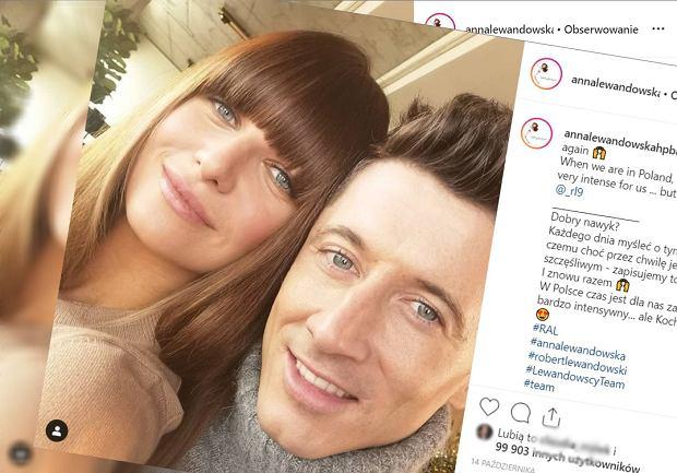 Anna Lewandowska jest w ciąży. Piłkarz potwierdził to podczas meczu