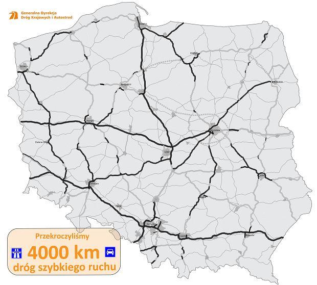 Sieć ekspresówek w Polsce