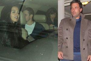 Luciana i Matt Damon, Jennifer Ganer, Ben Affleck
