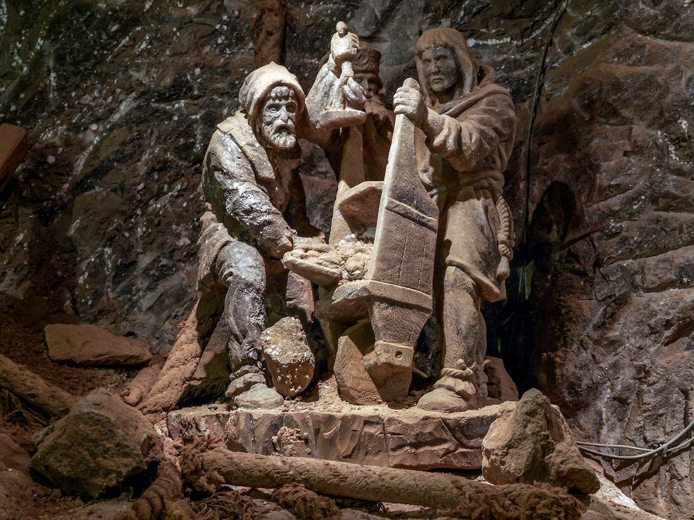 Kopalnia soli Bochnia. Zdjęcie ilustracyjne