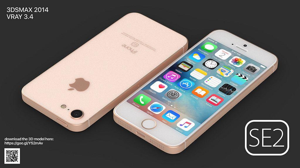 iPhone SE 2 - nieoficjalna grafika