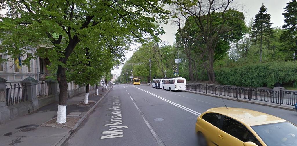 Ulica Hruszewskiego w Kijowie
