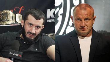 Mamed Chalidow i Mariusz Pudzianowski