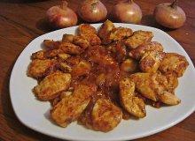 Fileciki z kurczaka z cebulką - ugotuj