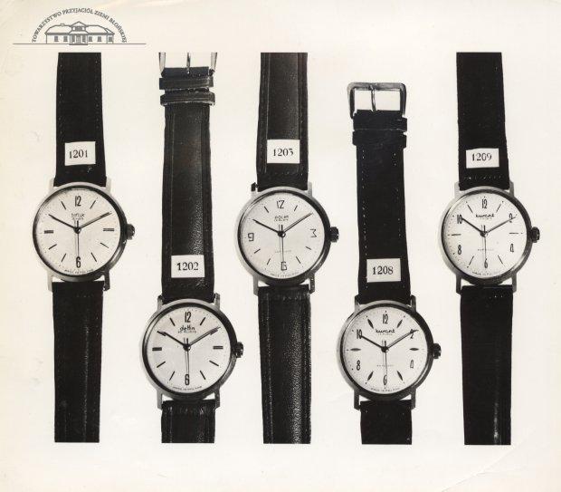 Zegarki marki Błonie. Zdjęcie archiwalne