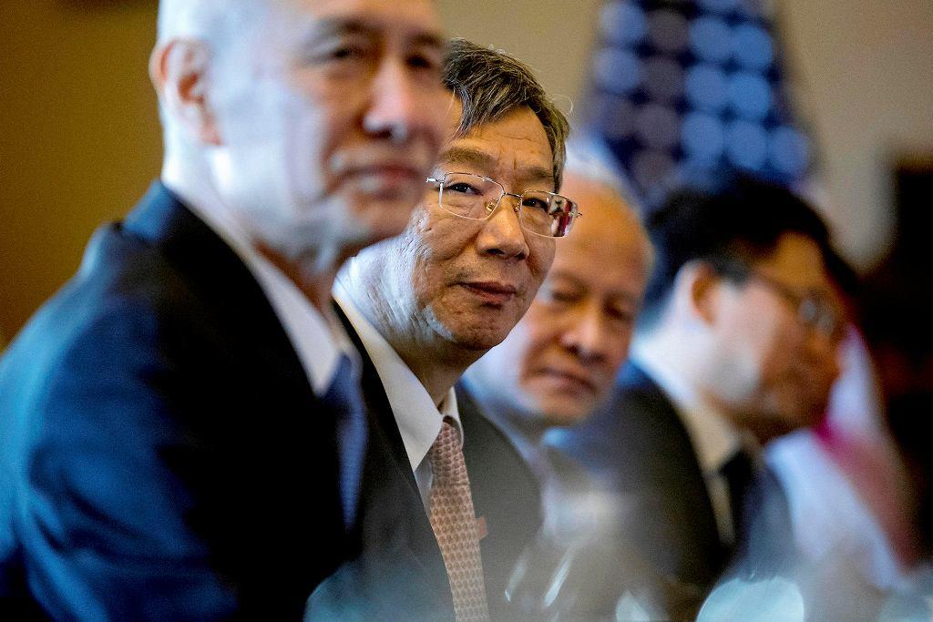 Chińska delegacja podczas rozmów z Amerykanami. Waszyngton, 30 stycznia 2019 r.