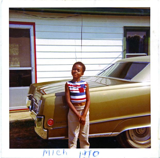 Michelle Robinson na rodzinnych zdjęciach z wakacji