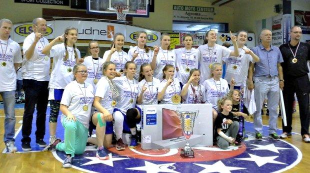 Wielki sukces młodych koszykarek z Wrocławia
