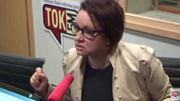 """Min. Anna Zalewska w """"Poranku Radia TOK FM"""""""