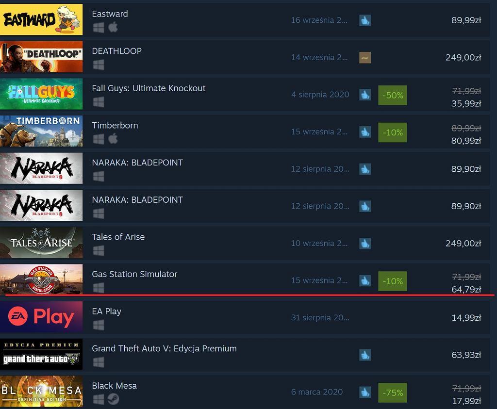 Polska gra na platformie Steam
