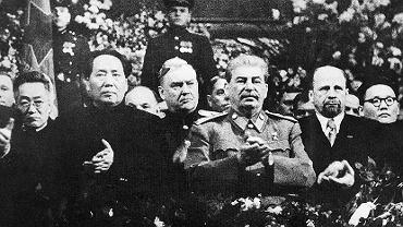 Stalin, Ulbricht i Mao Zedong, 1949 rok