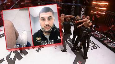 Marcin Najman i Kasjusz 'Don Kasjo' Życiński na gali Fame MMA 8
