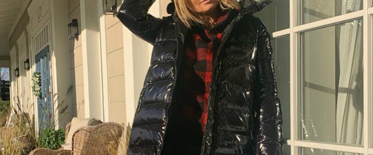 Małgorzata Rozenek znów dodała zdjęcie w swojej kurtce od marki Tiffi. My jednak patrzymy na jej skórzane spodnie!