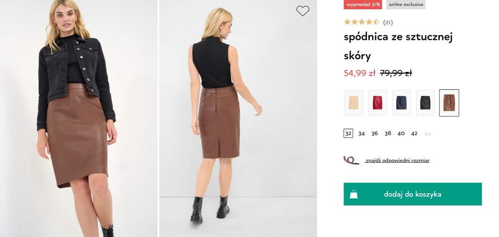 Orsay spódnica