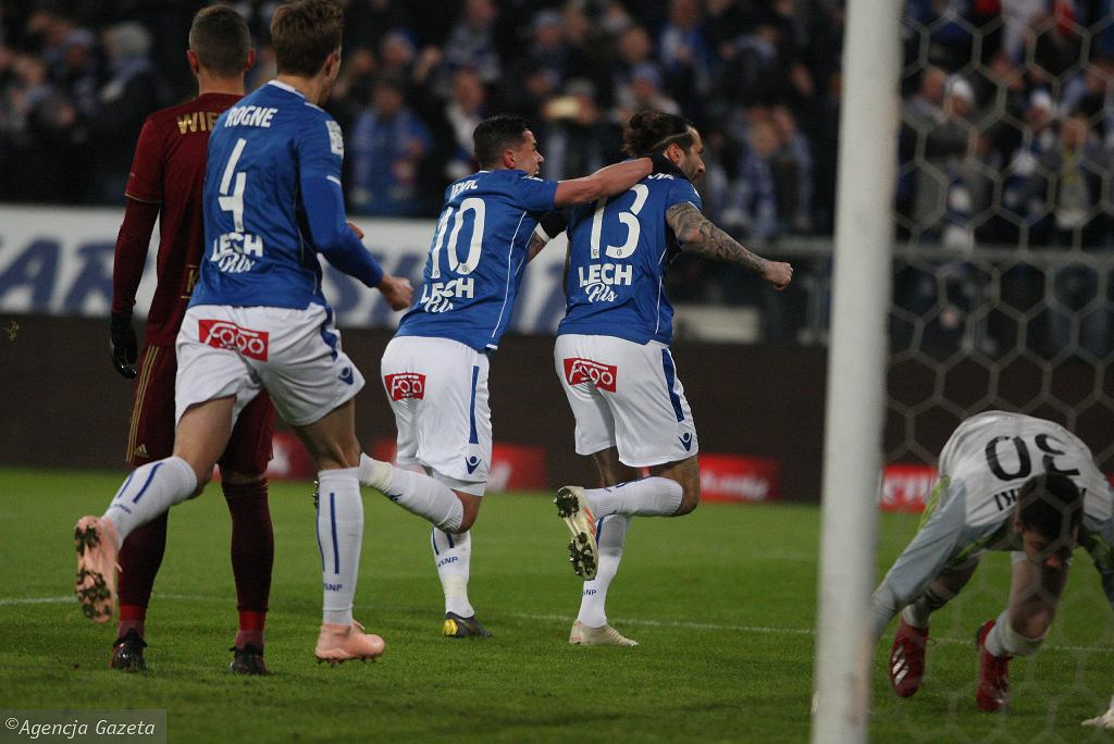 Lech Poznań - Legia Warszawa 2:0