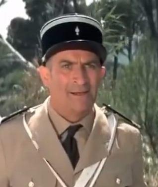 Louis de Funes w roli żandarma