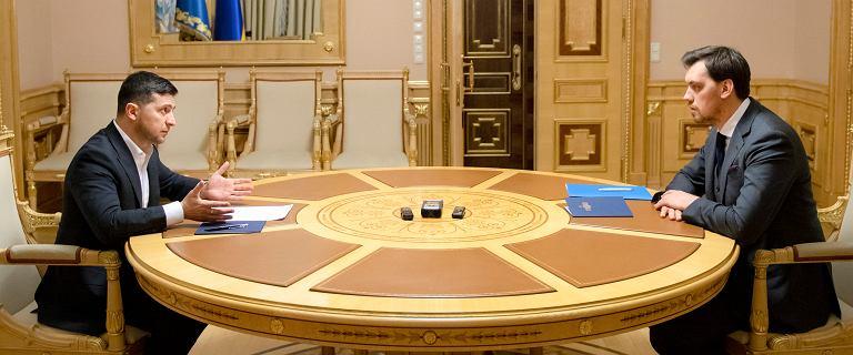 Afera taśmowa na Ukrainie. Prezydent odrzucił rezygnację premiera