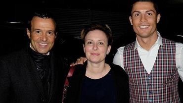 Jorge Mendes, Chantal Borgonovo i Cristiano Ronaldo