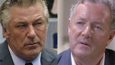 """Piers Morgan opublikował zdjęcia Aleca Baldwina z miejsca wypadku. """"Jak, u licha, mogło się to wydarzyć?"""""""