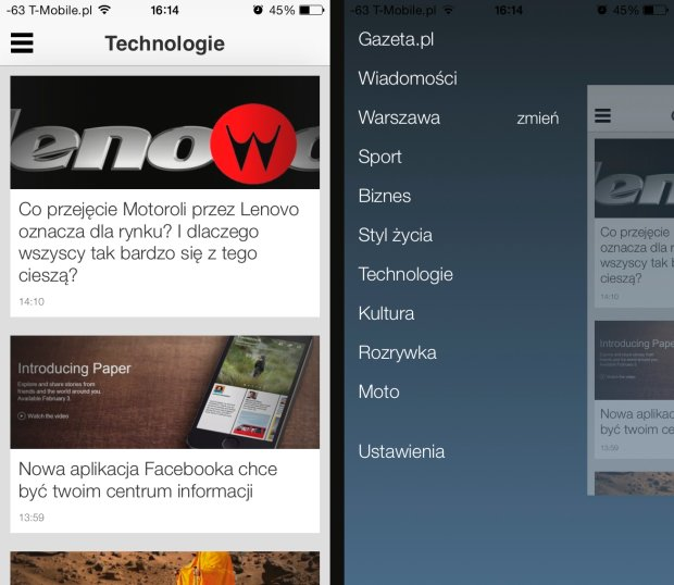 Gazeta.pl LIVE na iOS