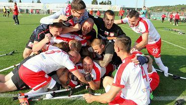 Reprezentacja Polski w amp futbolu po zdobyciu brązowego medalu ME w Turcji