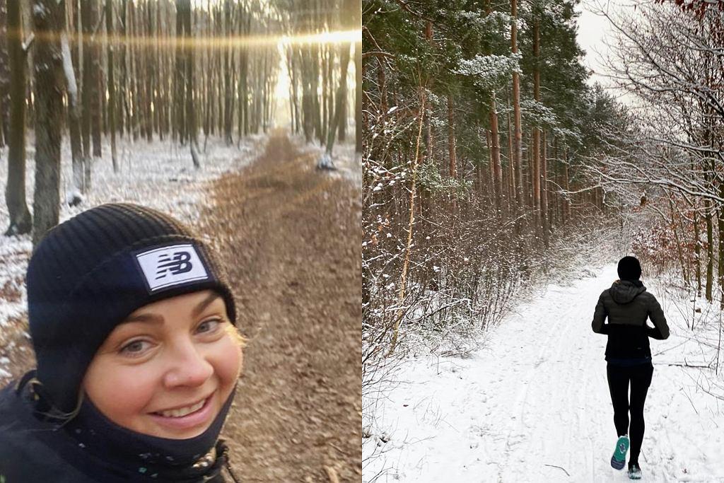 Małgorzata Socha zachęca do biegania zimą