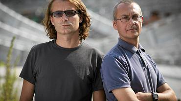 Piotr Głuchowski i Jacek Hołub, autorzy biografii księdza Rydzyka