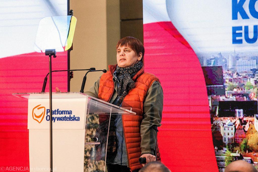 Janina Ochojska wygrała na Dolnym Śląsku wybory do europarlamentu 2019