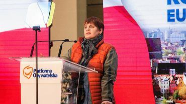 Konwencja Koalicji Europejskiej we Wrocławiu. Na zdj. Janina Ochojska