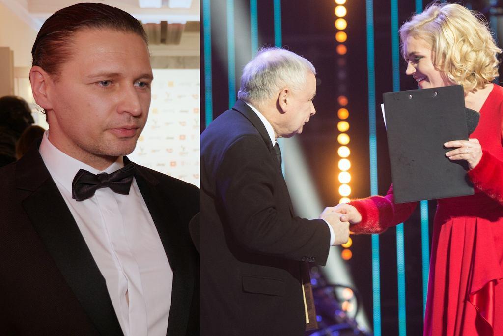 Michał Chorosiński, Jarosław Kaczyński, Dominika Figurska